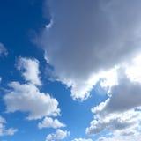 Облака кумулюса Стоковые Изображения RF