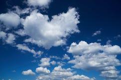 Облака кумулюса Стоковые Фото