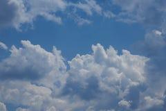 Облака кумулюса Стоковая Фотография