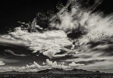 Облака муссона в Аризоне, США Стоковые Фото