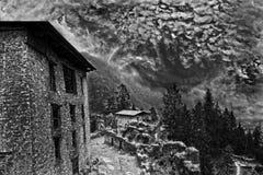 Облака муссона Стоковая Фотография RF