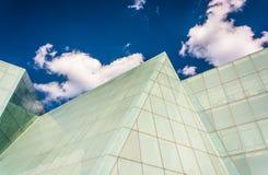 Облака над Брайном центризуют на коллеже o института Мэриленда стоковые изображения rf