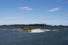 Облака на заливе грузина 2 Стоковое Фото