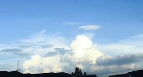 Облака над моей головой Стоковое Изображение RF