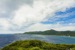 облака над морем Стоковые Изображения RF