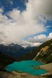 Облака над озерами Joffre, Британской Колумбией Стоковые Фотографии RF