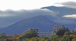 облака низкие Стоковое Изображение
