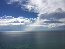 Облака океана стоковое фото rf