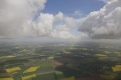 Облака от видного места стоковое изображение rf