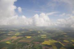 Облака от видного места стоковое изображение