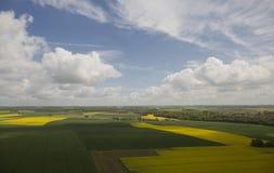Облака от видного места стоковая фотография