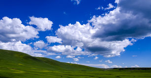 Облака долины Стоковое Изображение