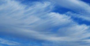 Облака пера Стоковая Фотография