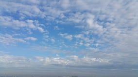 Облака после шторма дождя Стоковое Изображение RF