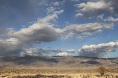 Облака пустыни Стоковые Изображения RF