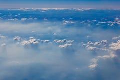 Облака сверху Стоковое Изображение RF
