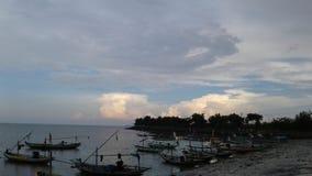 Облака серого цвета Стоковая Фотография