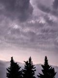 облака угрожая Стоковые Фотографии RF