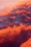 Облака цвета Стоковое Изображение