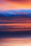 Облака цвета Стоковая Фотография