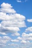 Облака цирруса с голубым небом Стоковые Изображения RF