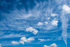 Облака цирруса Стоковое Фото