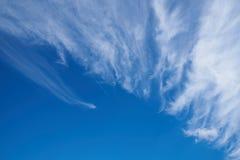 Облака цирруса Стоковая Фотография
