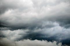 Облака шторма Стоковые Изображения RF