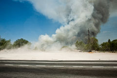 Облака дыма стоковая фотография