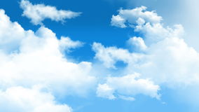 Облака 01 видеоматериал