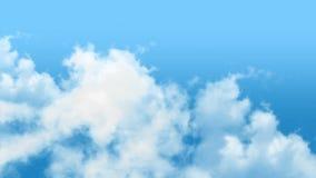 Облака видеоматериал