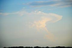 Облако атомной бомбы Стоковое Фото