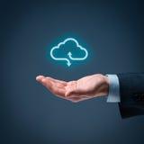 облако 2010 вычисляя smau Майкрософта Стоковое Фото