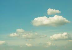 Облако в красивом небе Стоковое фото RF
