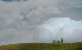 облако грандиозное Стоковое Фото