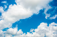 Облако и голубое небо Стоковая Фотография RF