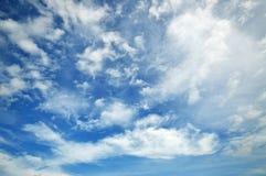 Облако и небо для предпосылки Стоковая Фотография RF