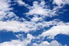 Облако и небо Стоковая Фотография RF