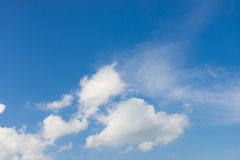 Облако и небо Стоковые Изображения RF