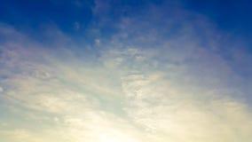 Облако и небо стоковое изображение rf