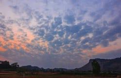 Облако и сумерк стоковое фото