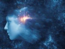 Облако мысли Стоковые Фотографии RF