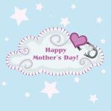 Облако дня матерей Стоковое Изображение RF
