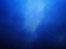 Облако предпосылки голубое любит картина Стоковые Изображения