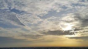 Облако серого цвета Scatter Стоковое Изображение RF