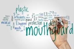Облако слова Mouthguard стоковое фото rf