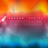 Облако цвета воды вектора Стоковое Изображение