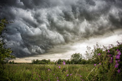 Облако шторма Стоковая Фотография