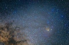Облако Ophiuchus Rho Стоковая Фотография RF