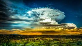 Облако Scape Стоковое фото RF